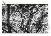 Black And White Tree 2 Carry-all Pouch