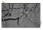 Black And White Tree Branch Carry-all Pouch