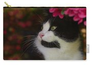 Black And White Tuxedo Cat Carry-all Pouch