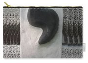 Black And White Yod Carry-all Pouch