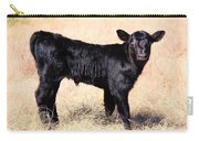 Black Angus Baby Calf Carry-all Pouch
