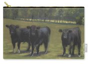 Black Angus Buddies Carry-all Pouch