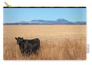Black Angus Looking Carry-all Pouch