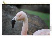 Black Beak On A Chilean Flamingo Carry-all Pouch