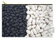 Black Beans And White Beans Carry-all Pouch
