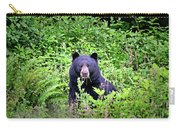Black Bear Eating His Veggies Carry-all Pouch