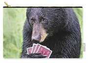 Black Bear Says I Call  Carry-all Pouch