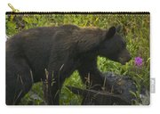 Black Bear-signed-#6549 Carry-all Pouch