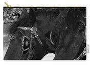 Black Beauties Carry-all Pouch by Stuart Turnbull
