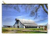 White Windows Historic Hopkinsville Kentucky Barn Art Carry-all Pouch