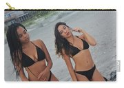 Black Bikinis Carry-all Pouch