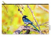 Black-billed Magpie Carry-all Pouch