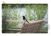 Black-billed Magpie Pica Hudsonia Carry-all Pouch