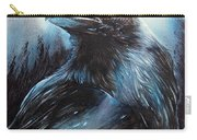 Black Bird Carry-all Pouch