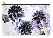 Black Blooms I I Carry-all Pouch