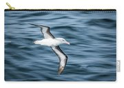 Black-browed Albatross Gliding Over Deep Blue Waves Carry-all Pouch