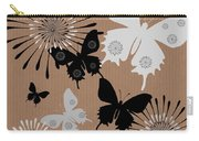 Black Butterflies Carry-all Pouch