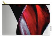 Black Calla Lily Carry-all Pouch