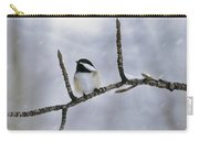 Black-capped Chickadee, Alberta Carry-all Pouch