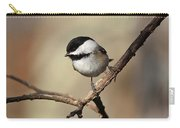 Black-capped Chickadee Portrait Carry-all Pouch