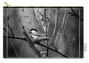 Black Capped Chickadee Carry-all Pouch