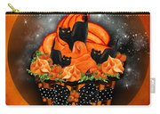 Black Cat Cupcake Carry-all Pouch