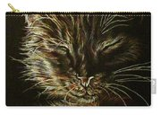 Black Cat Drawing Carry-all Pouch