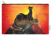 Black Cat. Mistress Of Diamond Mountain Carry-all Pouch