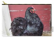 Black Chicken Carry-all Pouch