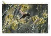 Black Chinned Hummingbird In Flight Carry-all Pouch