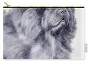 Black Chow Chow  Carry-all Pouch
