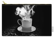 Black Coffee Carry-all Pouch by Stefano Senise
