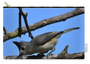 Black Crested Titmouse Carry-all Pouch