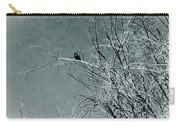 Black Crow White Snow Carry-all Pouch