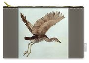 Black Crowned Night Heron 3junenile Roger Bansemer Carry-all Pouch