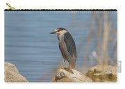 Black Crowned Night Heron In Colorado Carry-all Pouch
