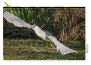 Black-crowned Night Heron In Flight Carry-all Pouch