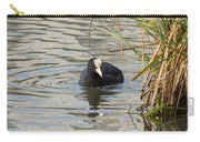 Black Duck On Pond Carry-all Pouch