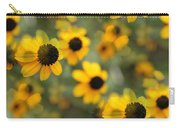 Black Eyed Susan Floral Carry-all Pouch