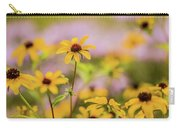 Black Eyed Susan Sunflowers In Field Carry-all Pouch