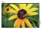Black-eyed Susan With Soldier Beetle  Carry-all Pouch