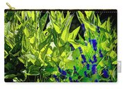 Black Eyed Susans And Lavender Carry-all Pouch
