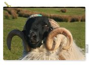Black Faced Ram Carry-all Pouch