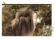 Black Feather Owl Carry-all Pouch