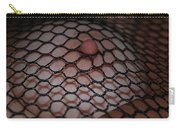 Black Fishnet Carry-all Pouch