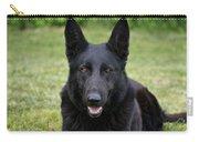 Black German Shepherd Dog II Carry-all Pouch