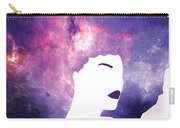 Black Girl Magic Lavender Carry-all Pouch