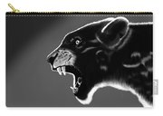 Black Glow Tiger Carry-all Pouch