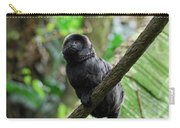 Black Goeldi's Marmoset Sitting On The Vine Carry-all Pouch