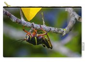 Black Grasshopper Carry-all Pouch